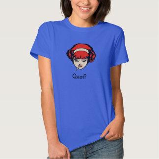 French Redhead Smoking Quoi T-shirt