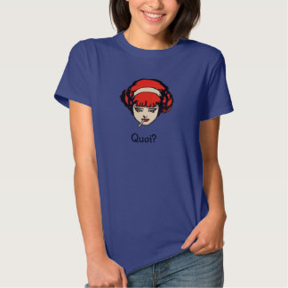 French Redhead Smoking Quoi Tshirt