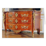 French Regency commode, c.1720 Card