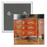French Regency commode, c.1720 Pinback Button