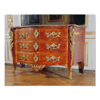 French Regency commode, c.1720 Poster