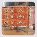 French Regency commode, c.1720 Square Sticker