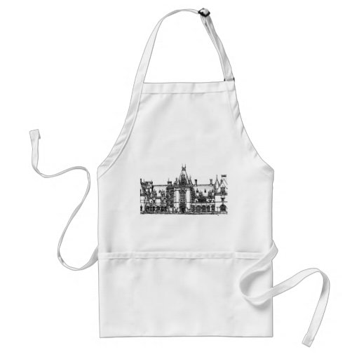 French Renaissance architecture in USA Adult Apron