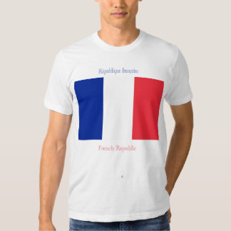 French Republic Flag Shirt