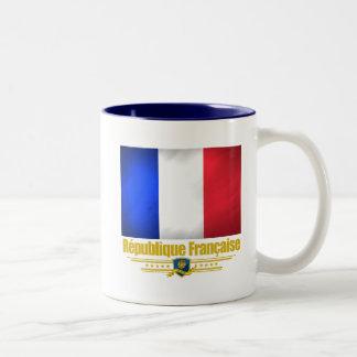 French Republic Two-Tone Coffee Mug
