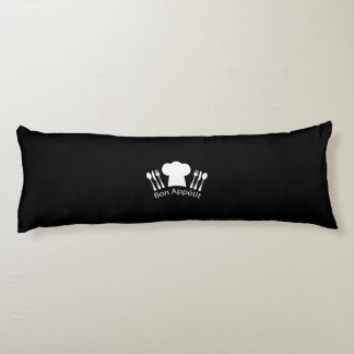 French Restaurant Chefs Hat for Gourmet Body Pillow
