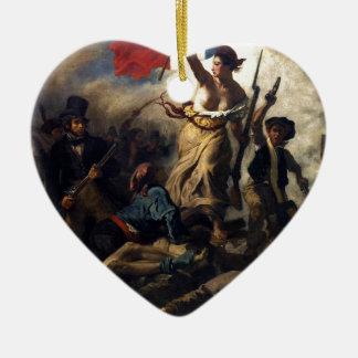 French revolution ceramic ornament