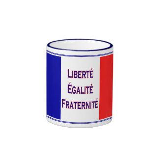 French Revolution Motto Bastille Day Mug
