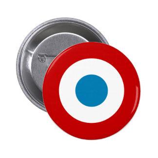 French Revolution Roundel France Cocarde Tricolore Pinback Button