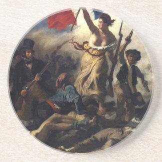 French revolution sandstone coaster