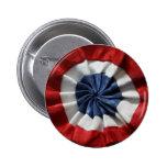 French Revolution Tricolor Pinback Button