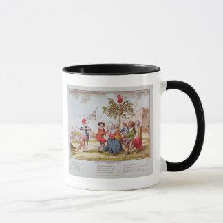 French revolutionaries dancing the carmagnole mug