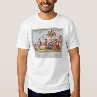 French revolutionaries dancing the carmagnole t shirt