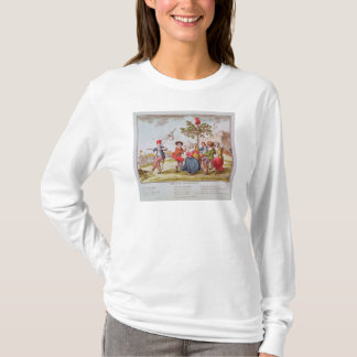 French revolutionaries dancing the carmagnole T-Shirt