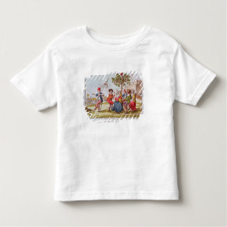 French revolutionaries dancing the carmagnole toddler t-shirt