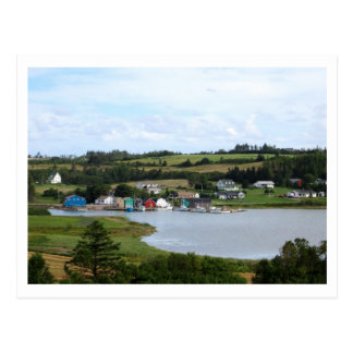 French River, PEI Postcard