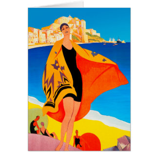 """""""French Riviera"""" Card"""