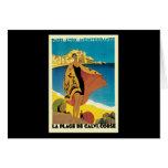 French Riviera La Plage De Calvi Corse Cards