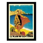 French Riviera La Plage De Calvi Corse Postcards