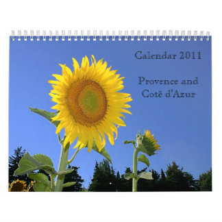 French Riviera Sightseeings Wall Calendars