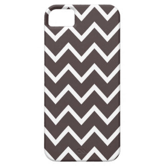 French Roast Brown Chevron iPhone 5 Case iPhone 5 Covers