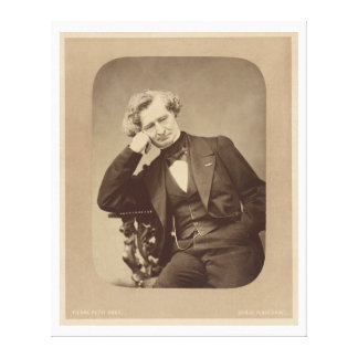 French Romantic composer Hector Berlioz Canvas Print