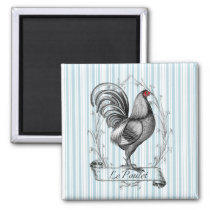 French Rooster Le Poulet Magnet