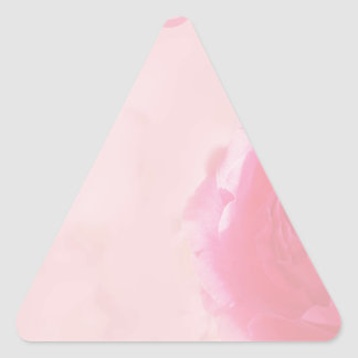 French Rose II Triangle Sticker