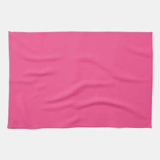 French Rose Pink Kitchen Towel