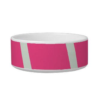 French Rose Pink Pet Bowl