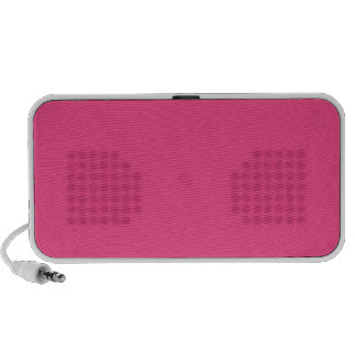 French Rose Pink Speakers