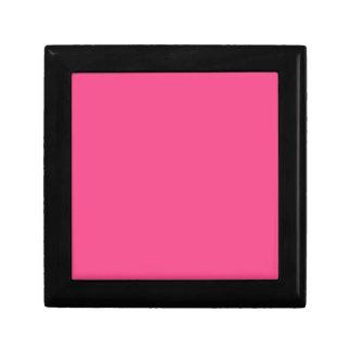 French Rose Pink Trinket Box