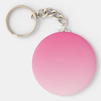 French Rose to Piggy Pink Horizontal Gradient Keychains