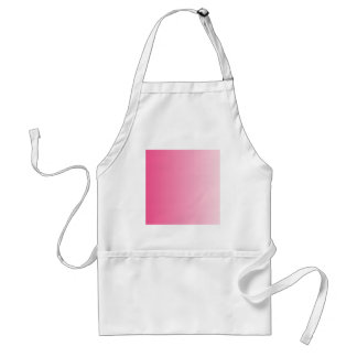 French Rose to Piggy Pink Vertical Gradient Apron