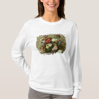 French Roses and Peonies, 1881 T-Shirt