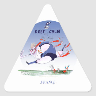 french rugby play, tony fernandes triangle sticker