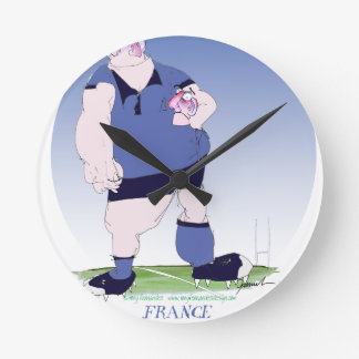 french rugby player, tony fernandes round clock
