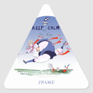 french rugby, tony fernandes triangle sticker