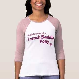 French Saddle Pony T-Shirt