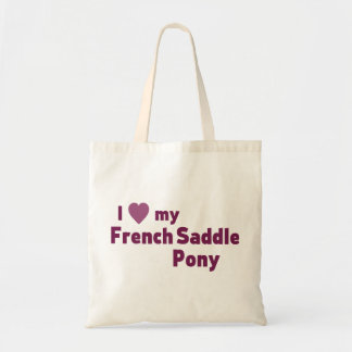 French Saddle Pony Tote Bag