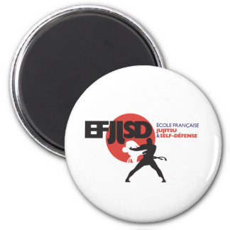 French school of JuJitsu and Coil-Defense Refrigerator Magnets