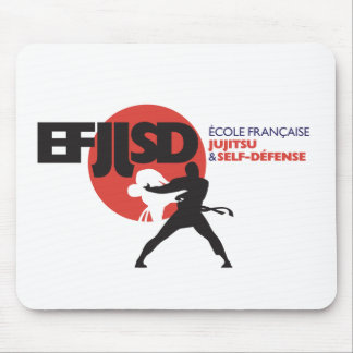 French school of JuJitsu and Coil-Defense Mouse Pad