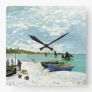 French Seaside Wall Clock
