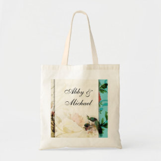 French Shabby chic Vintage Budget Tote Bag