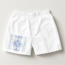 French,shabby chic, vintage,pale blue,white,countr boxers