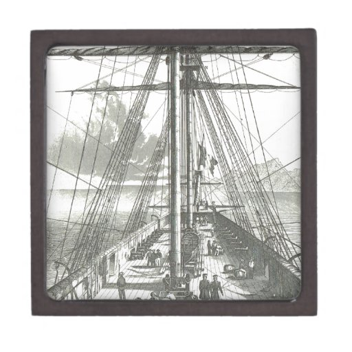French ship of the line, 1800 premium jewelry boxes
