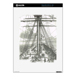 French ship of the line, 1800 decals for the iPad 2