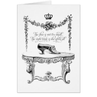 French Shoes Card