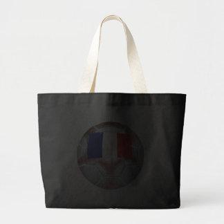 French Soccer Ball Jumbo Tote Bag