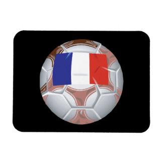 French Soccer Ball Magnet